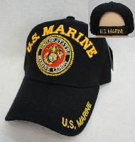 Licensed US Marines Hat [Seal] *Black Only